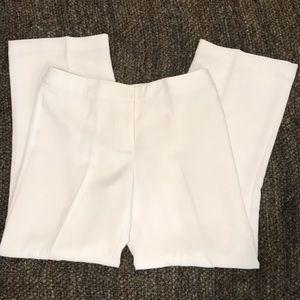 Talbots white summer pants size 10